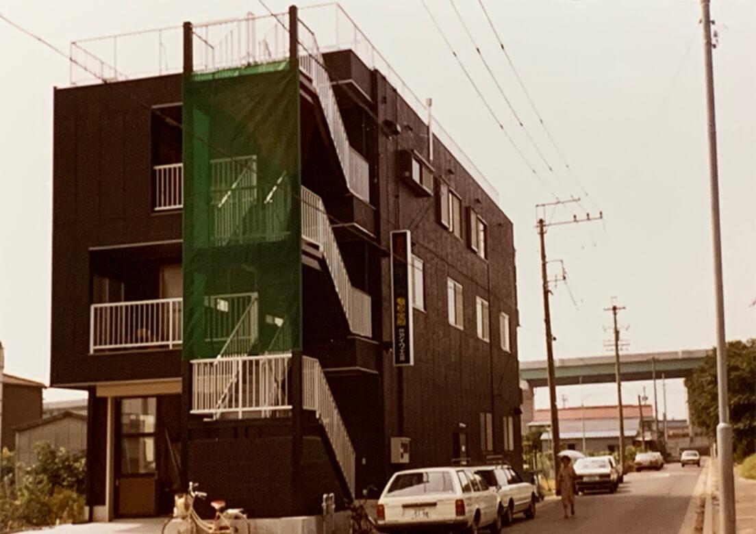 1982年〜1987年当時のアイ工芸のオフィス