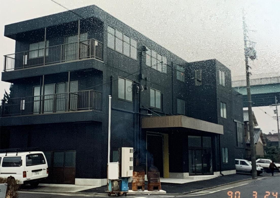 1990年〜2008年当時のアイワ工芸のオフィス